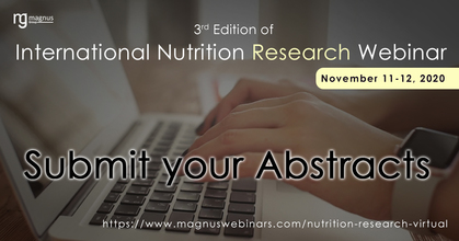 3rd Edition of International Nutrition Research Webinar